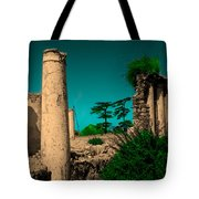 Colourful Ruins Tote Bag
