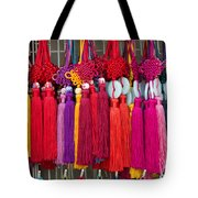 Colourful Souvenirs In China Tote Bag