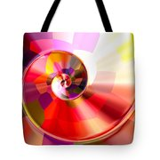 Colourful Tiled Spiral Tote Bag