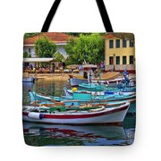 Colours Of Greece Tote Bag