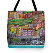 Colours Of Manarola Tote Bag