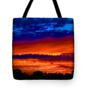Colours Of Sunset Tote Bag