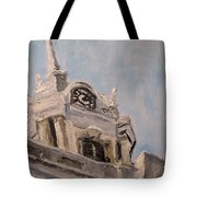 Columbia Courthouse On A Clear Day Tote Bag