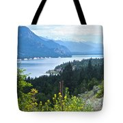 Columbia Lake Which Is Source Of The Columbia River-bc  Tote Bag