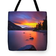 Columbia Morning Fire Tote Bag
