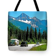 Columbia Mountains In Glacier Np-british Columbia Tote Bag