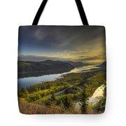Columbia River Gorge At Sunrise Tote Bag