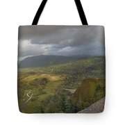Columbia River Gorge View From Crown Point Tote Bag