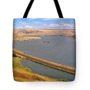 Columbia River In Oregon, Viewed Tote Bag
