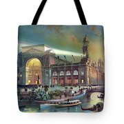 Columbian Expo, Electricity Building Tote Bag