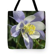 Columbine Flower Tote Bag