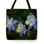 Columbines Tote Bag