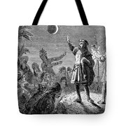 Columbus And The Lunar Eclipse, 1504 Tote Bag