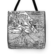 Columbus Hispaniola, 1492 Tote Bag