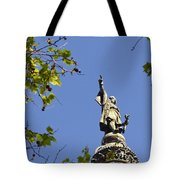 Columbus Monument - Barcelona Tote Bag