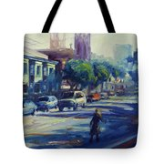 Columbus Street Tote Bag