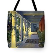 Columns And Chairs Tote Bag