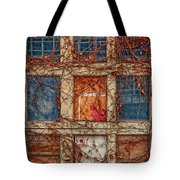 Columns And Rows Tote Bag