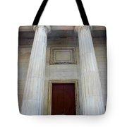 Columns Of Second Bank In Philadelphia Tote Bag