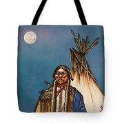 Comanche Moon Tote Bag