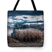 Combining Corn Tote Bag