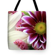 Combining Two Souls  Tote Bag