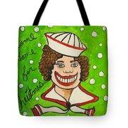 Come Home For Christmas Tillie Tote Bag