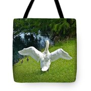 Come On Little Ones Back In The Water Tote Bag