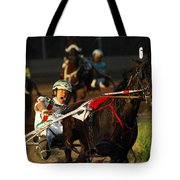 Horse Racing Come On Number 6 Tote Bag