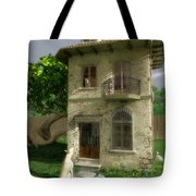 Come Out And Play Tote Bag by Cynthia Decker