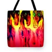 Come Out And Play, Are We Horses Or Are We Snakes  Tote Bag