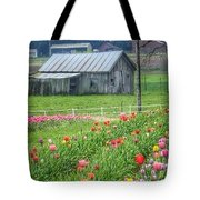 Come See Tulips  Tote Bag