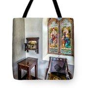 Come Unto Me Tote Bag by Adrian Evans