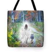 Come Walk With Me Tote Bag by Sue Long