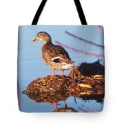 Comedian Duck Tote Bag