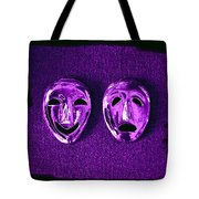 Comedy And Tragedy Masks 2 Tote Bag