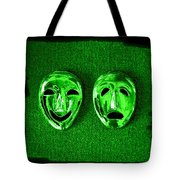 Comedy And Tragedy Masks 3 Tote Bag