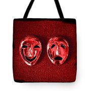 Comedy And Tragedy Masks 4 Tote Bag