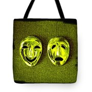 Comedy And Tragedy Masks 6 Tote Bag