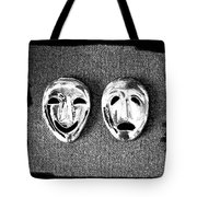 Comedy And Tragedy Masks 7 Tote Bag