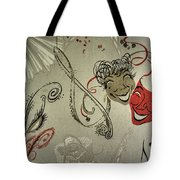 Comedy Tragedy  Tote Bag