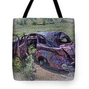 Comet Mine Jalopy - Montana Tote Bag