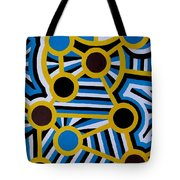 Comets Of Karma Tote Bag