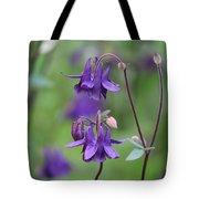 Comfort In Purple Tote Bag
