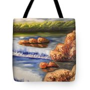 Comfort Waterfall Tote Bag