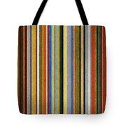 Comfortable Stripes V Tote Bag by Michelle Calkins