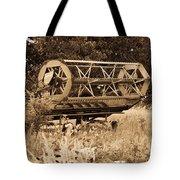 Comgine Wheel In Sepia Tote Bag