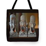 Comical Singing Ashtrays Tote Bag