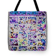 Comics Strip Abstract Tote Bag