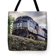 Coming Down The Tracks Tote Bag
